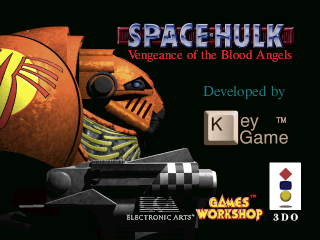 Screenshot Thumbnail / Media File 1 for Space Hulk - Vengeance of the Blood Angels (1995)(Electronic Arts)(Eu)[!][CDD7065]